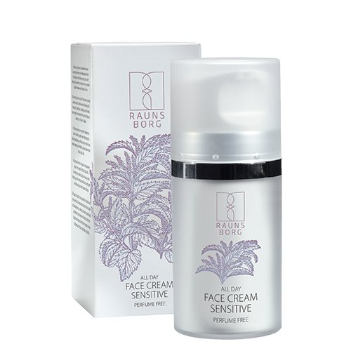 Image of All day face cream sensitive Raunsborg N. - 50 ml.