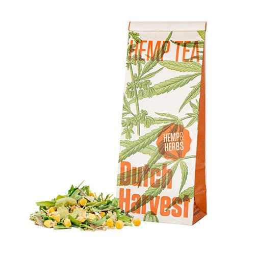 Image of Dutch Harvest Hemp Tea Hemps & Herbs - 40 g.