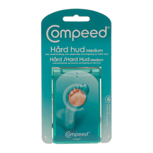 Image of Compeed Hård hud Medium - 6 stk.