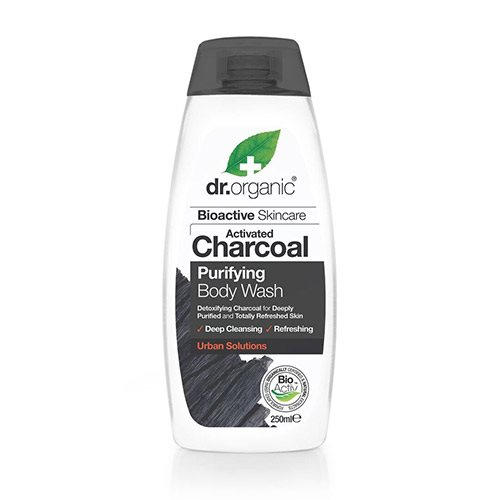 Image of Dr. Organic Body Wash Charcoal Purifying - 250 ml.