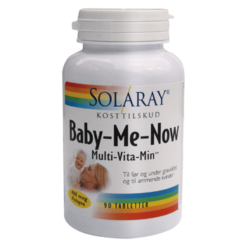 Image of Baby-Me-Now Multi vitamin/mineral - 90 tabs.