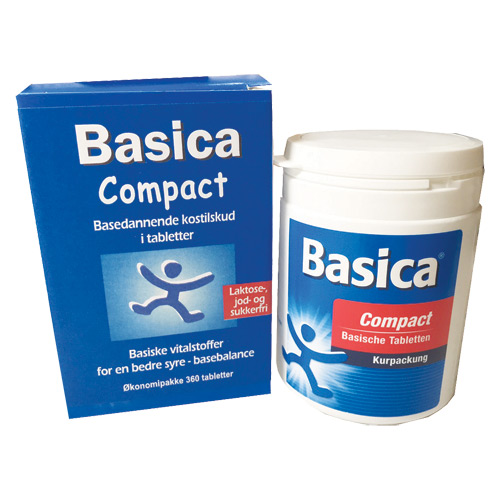Image of Basica Compact - 120 tabs.