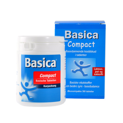 Image of Basica Compact - 360 tabs.