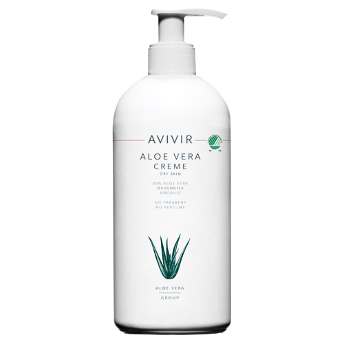 Image of Avivir Aloe Vera creme 80% - 500 ml.
