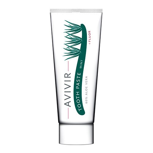 Image of Avivir Aloevera tandpasta mint - 75 ml.