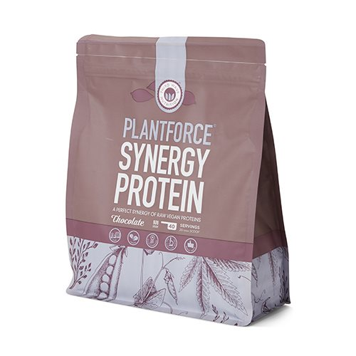Image of Plantforce Synergy protein Chocolate - 800 gr.