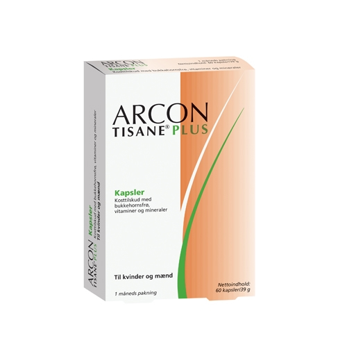 Image of Arcon Tisane Plus - 60 kaps.