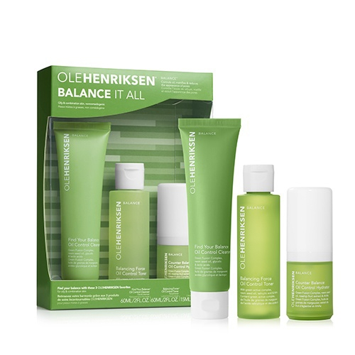 Image of Ole Henriksen Balance It All Oil Control And Pore-Refining Set - 103 ml.