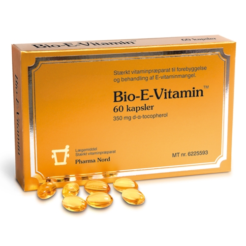 Image of Bio-E Vitamin - 60 kaps.