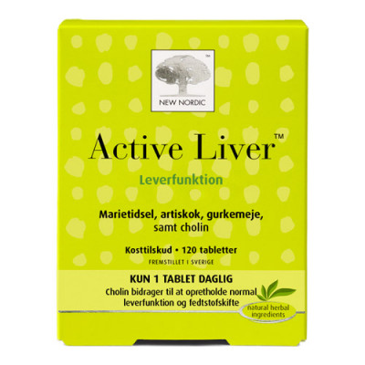 New Nordic Active Liver (120 tabletter)
