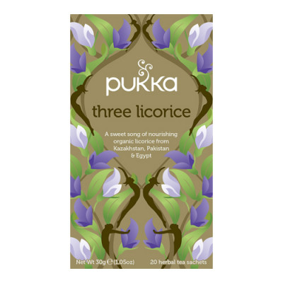 Pukka Three Licorice Te Ø (20 breve)
