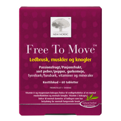 New Nordic Free To Move (60 tab)