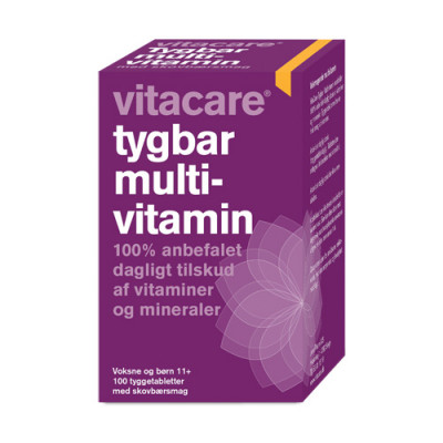 VitaCare Tygbar Multivitamin (100 tabletter)