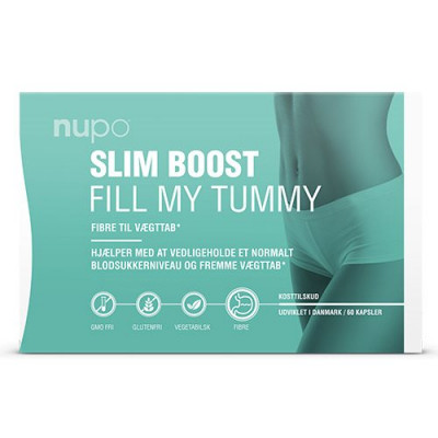 Nupo Slim Boost Fill My Tummy (60 kap)