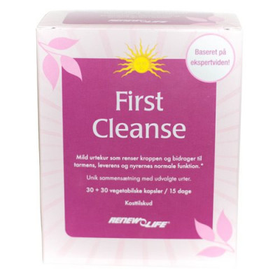 First Cleanse (60 kaps)
