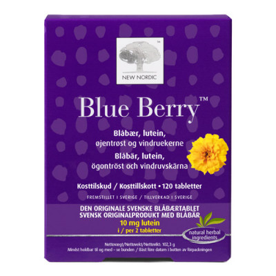 Blue Berry Original (120 Tab.)