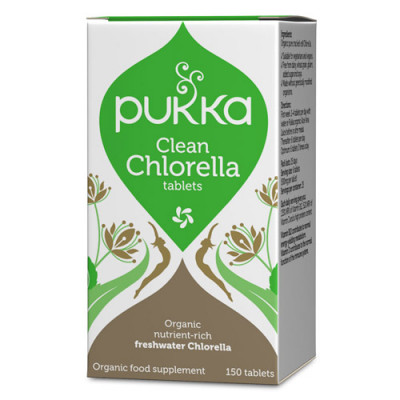 Pukka Clean Chlorella 500 mg Ø (150 tabletter)