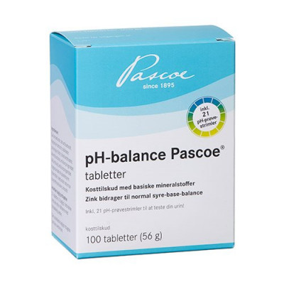 Vareprøve - pH-balance tabletter