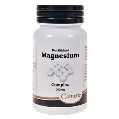 Camette Magnesium Complex 200 mg (90 tabletter)