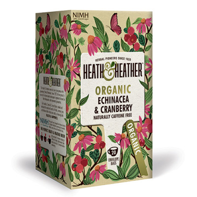 Heath & Heather Organic Echinacea & Cranberry (20 breve)
