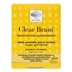 New Nordic Clear Brain (60 tab)