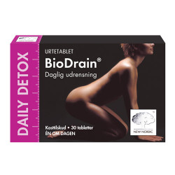 New Nordic BioDrain Daily Detox (30 tabletter)
