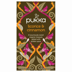 Pukka Licorice & Cinnamon Te Ø (20 breve)