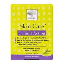 New Nordic Skin Care Cellufit Action (60 tabletter)