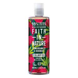 Faith in Nature Shampoo Granatæble & Rooibos - 400 ml.