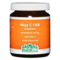 Health Care Mega C 1500 mg (30 tabletter)