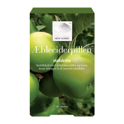 New Nordic Æbleciderpillen (30 tab)