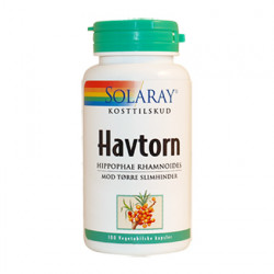 Solaray Havtorn 600 mg (100 kapsler)