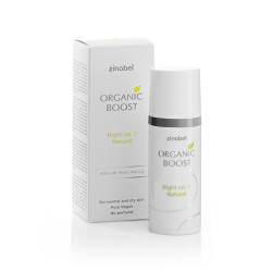 Organic Boost Night No. 1 Naturel Natcreme (50 ml)