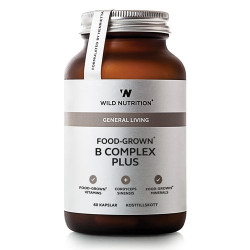 Wild Nutrition Food-Grown B Complex Plus (60 kaps)