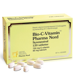 Bio-C-Vitamin 750 mg (120 tabletter)