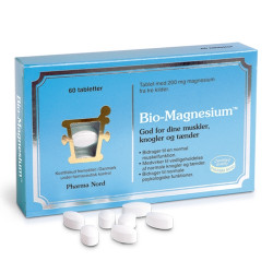 Bio-Magnesium 200 mg (60 tabletter)