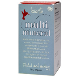 Biorto Multimineral (150 kapsler)