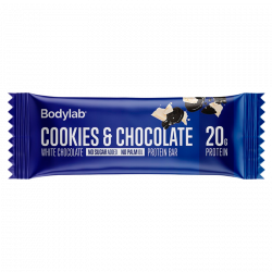Bodylab Proteinbar Cookies & White Chocolate (55 g)