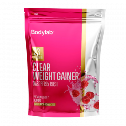 Bodylab Clear Weight Gainer Raspberry Rush - 1500 g