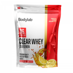 Bodylab Clear Whey Cola Lemon - 500 g