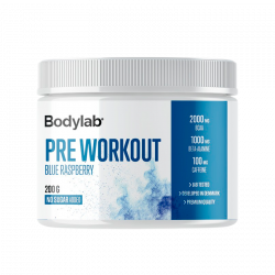 Bodylab Preworkout Blue Raspberry (200 g)