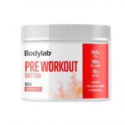 Bodylab Preworkout Sweet Cola (200 g)