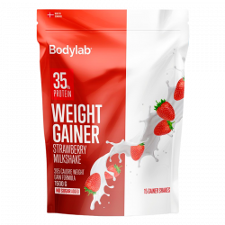 Bodylab Weight Gainer Strawberry Milkshake (1500 g)