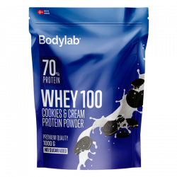 Bodylab Whey100 Cookies & Cream (1000 g)