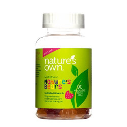 Nature's Own Nature's Bear Multivitaminer - 90 gummies.