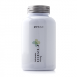 Pureviva Chlorella 400mg 540 tabletter