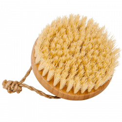 Croll & Denecke Bamboo Massage Brush Coconut Bristles - 1 stk.