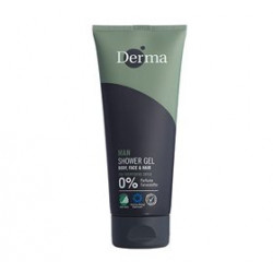 Derma Man shower gel body, face & hår