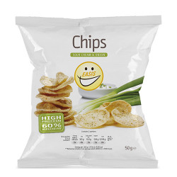 EASIS Sour Cream & Onion Chips - 50 g.