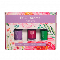 ECO. Aroma With Love Aroma Trio - Peppermint, Lavender, Women's Blend